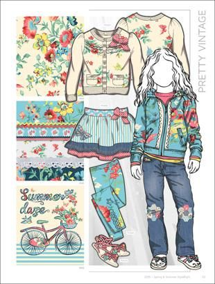 Style Right Kid's Trend Book S/S 2015 incl. DVD | mode...information GmbH