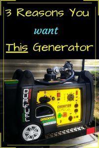 RV Generator - 3 Reasons We Bought the RV Ready Champion 3500 Watt Dual Fuel Inverter Generator - Exploring the Local Life