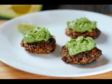 Tortitas de camote y quinoa al estilo de Sonia Ortiz por Cocina al natural