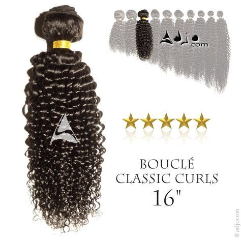 Tissage brésilien bouclé Classic Curls Haut de Gamme 16 pouces