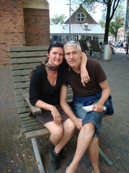 Me and my lovely wife in lovely Amsterdam
