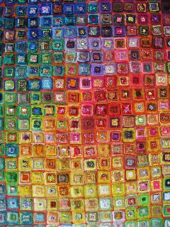 BERNINA Textilkünstler: Judith Mundwiler zeigt ihr Können.  - BERNINA