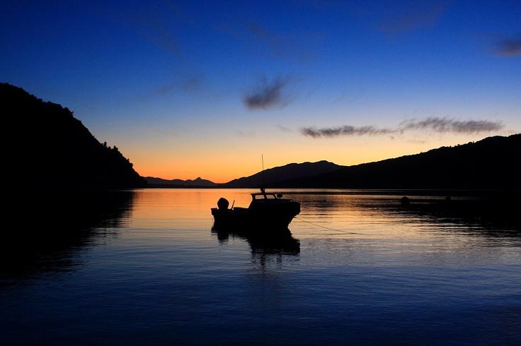 Puyuhuapi Lake, Chile