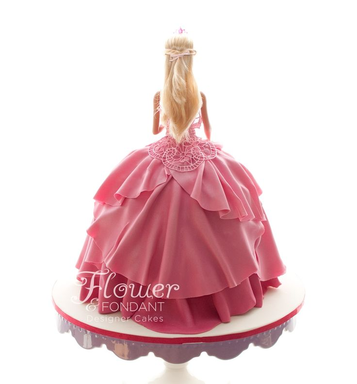 Pink & Lace Dolly Varden Cake
