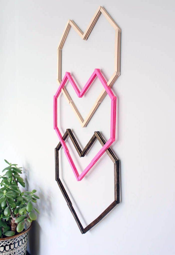 1001 ideen wie sie eine kreative wanddeko selber machen selbstgemacht selbstgemachte wanddekorationen 3d wanddekoration wandobjekt silber