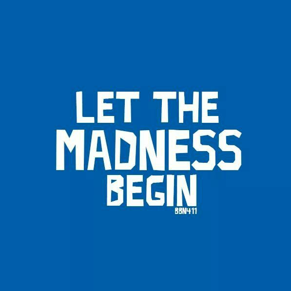Let the Madness Begin! #BBN #411Lex Today, 9:40 PM on CBS Bankers Life Fieldhouse Northern Kentucky University @Kentucky Wildcats