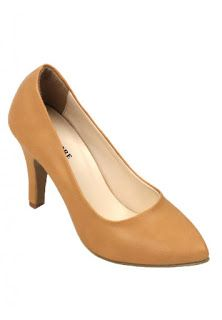 Jual sepatu wanita murah dan berkualitas: CLAYMORE Sepatu High Heels BB-701 Cream