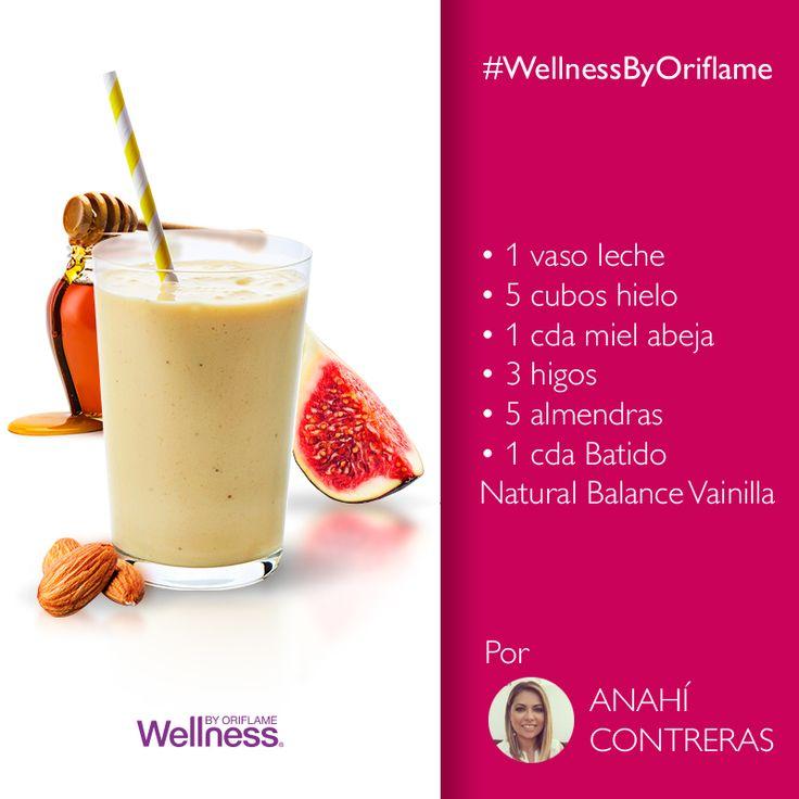 Gracias Anahi Contreras Lugo por compartirnos tu receta #WellnessByOriflame, ¡está deli!