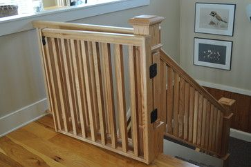 Corolla, NC - beach-style - Staircase - Other Metro - Albemarle Contractors, Inc.  Baby Gate