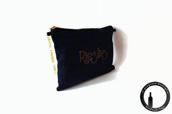 Riesling-Riesling bottle-Denim bag-Jeans bag Raw