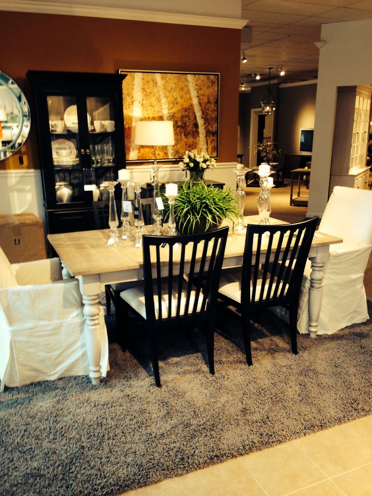 Ethan Allen Rustic Miller Table Our New Dining Set❤️