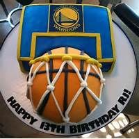 Golden State Warriors Basketball Cakes
