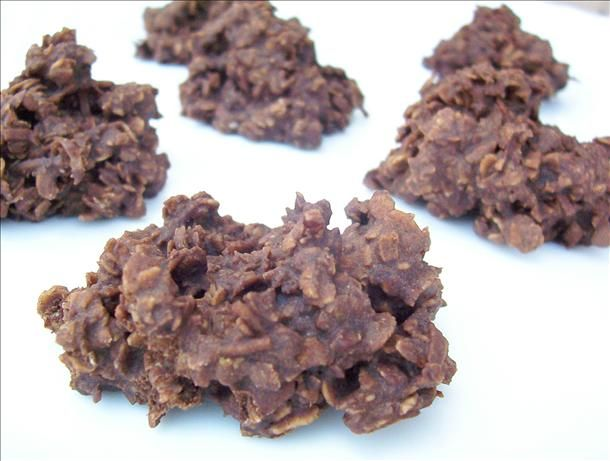 Unbaked Cookies. Perfect for a hot day when you don't want to heat up the house!