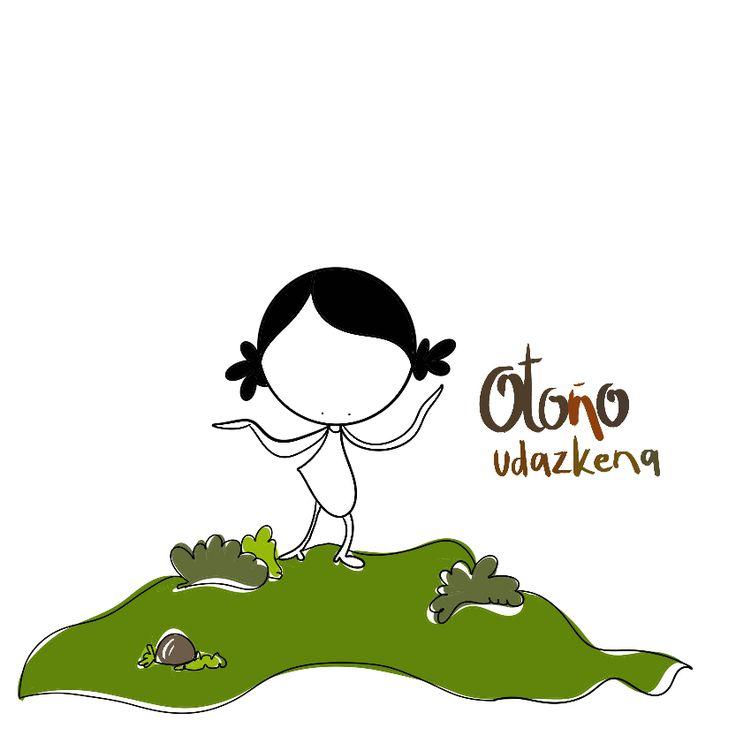 … desprenderse. La Vida misma #EeeegunonMundo!! #otoño #udazkena ¡¡¡Compártelo!!!