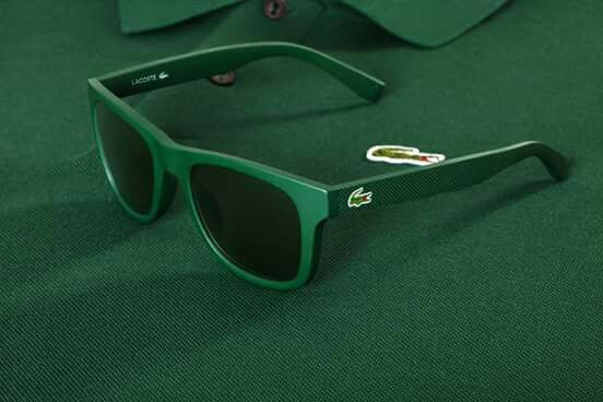 Green lacoste frame