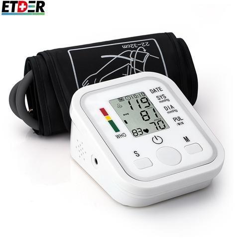Digital Upper Arm Blood Pressure Pulse Monitors tonometer Portable health care bp Blood Pressure Monitor meters sphygmomanometer. | wonderfestgifts.com
