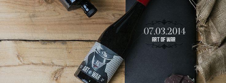 Art of War 2012 - landing to the 'Fo this Friday 07/03/14. #wine #artofwar #vinomofo #shiraz #design #photography