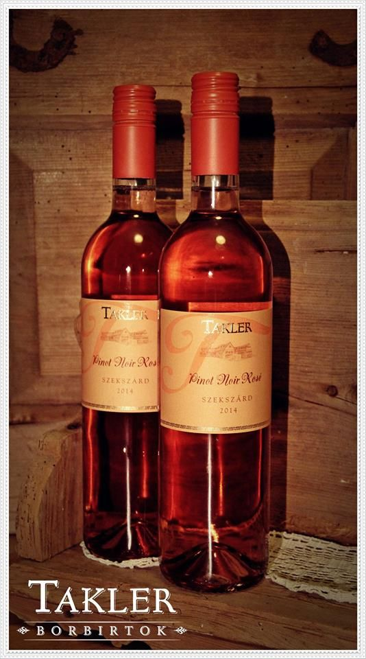 TAKLER - Pinot Noir Rosé - 2014