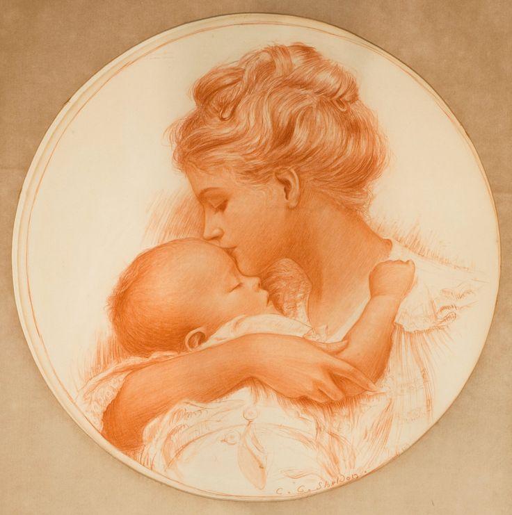 Картинки матери с младенцем на руках