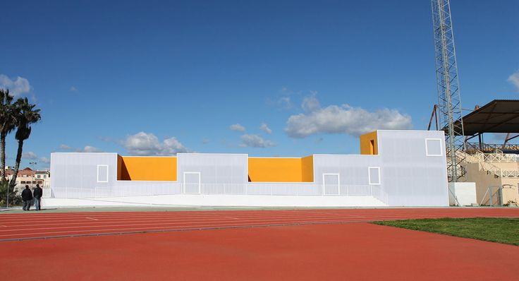 GANA Arquitectura · Multifunctional Building in Municipal Sports Facilities · Divisare