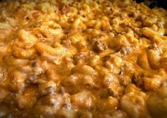 Taco Mac and Cheese recipes for left over taco meat!