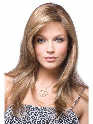 Long Stylish Straight Synthetic Wig - Image 1