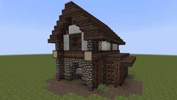 minecraft tutorial einen kleinen stall bauen minecraft building pinterest minecraft. Black Bedroom Furniture Sets. Home Design Ideas