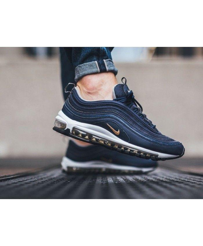 4a96d1b2dab3 Nike Air Max 97 Midnight Navy Fashion Trainers Sale UK