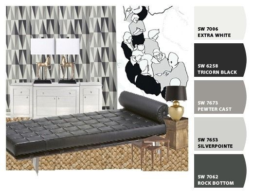 Interior Design EDecorating EDesign Gift For Her By Blondiesloft 14500 Mood Board