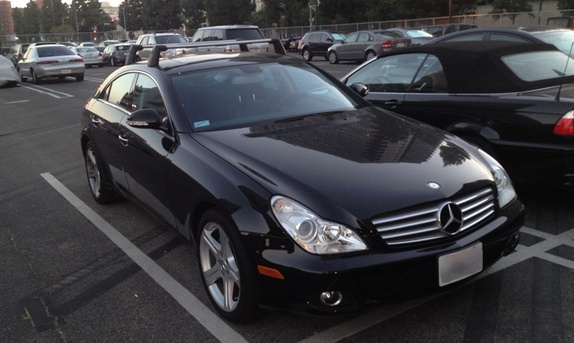 Mercedes benz cls class 2007 for rent in los angeles for Mercedes benz rental los angeles