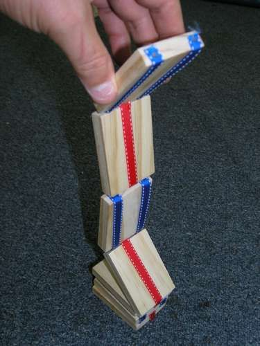 Jacob's Ladder. My husband and his dad actually made some like these and other wooden toys, now my sister-n-laws husband took over making them and some of the other things they use to make...