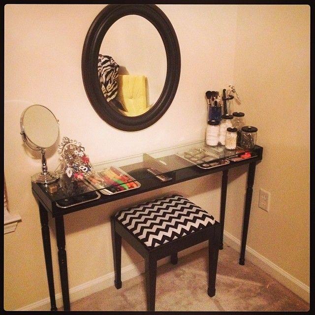 DIY Vanity!! Ikea Shelf Hack