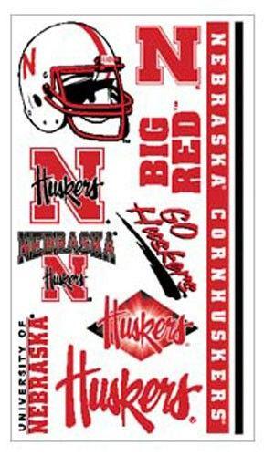 Nebraska Huskers Temporary Tattoos