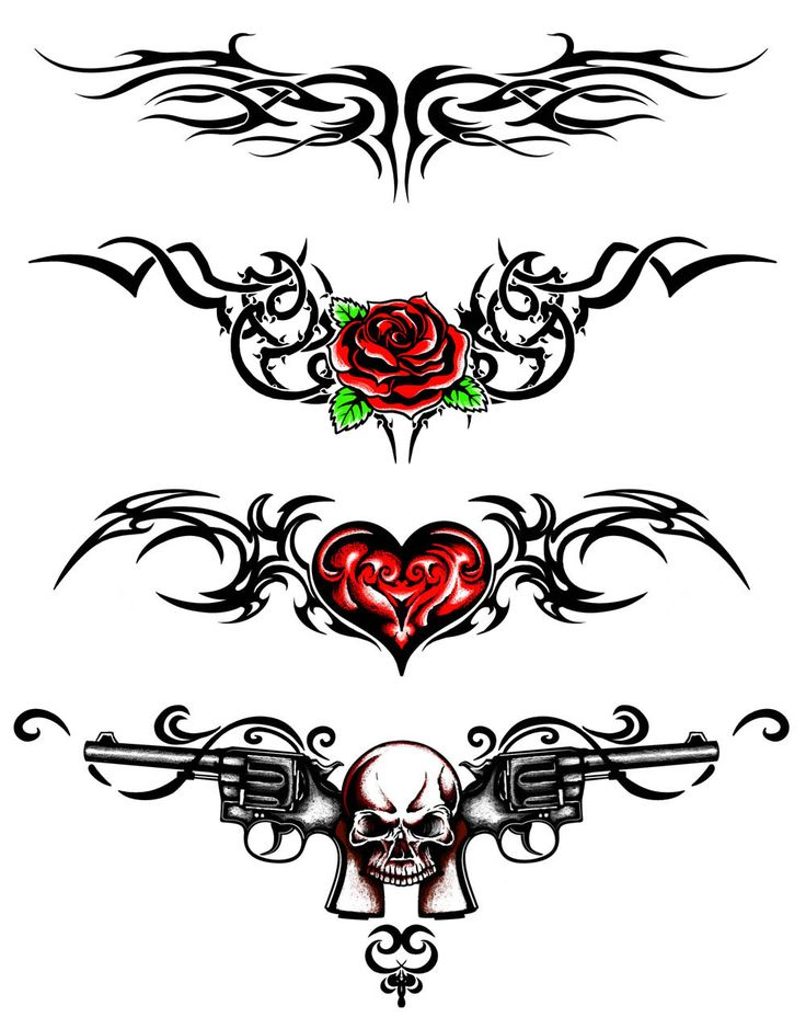 100 tribal tramp stamp tattoos lower back tribal for Tattoo nightmares shop location