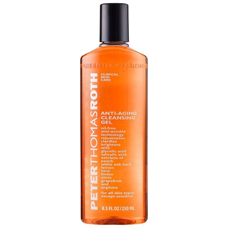 Antiaging cleansing gel