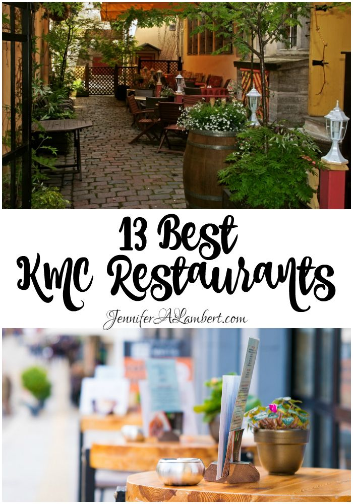 Wondering where to dine out in the Kaiserslautern area? Our 13 favorite restaurants in the KMC!