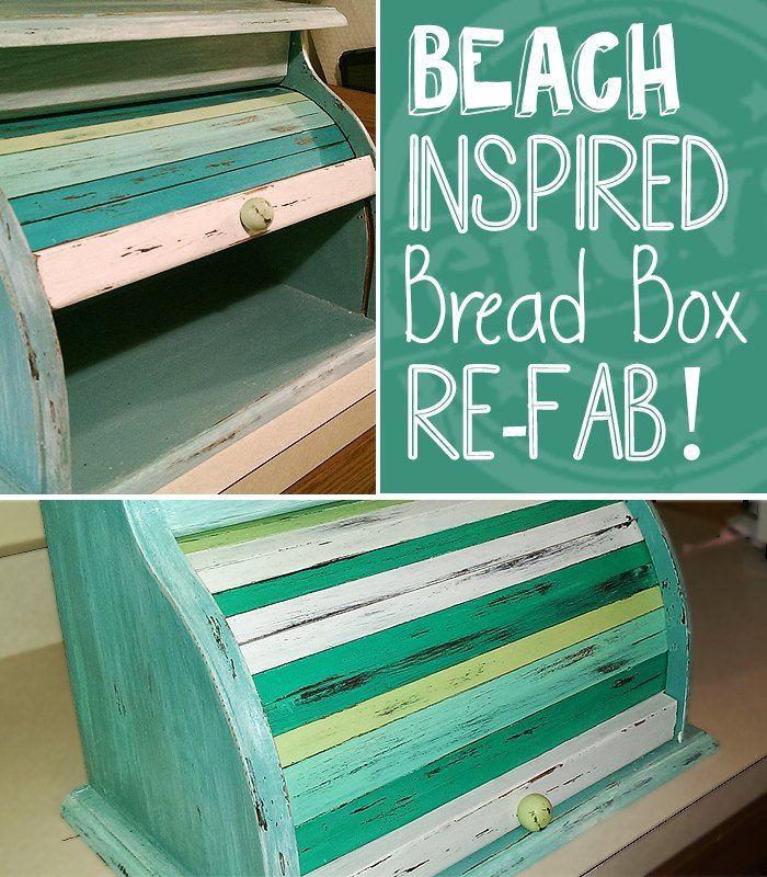 Beach Style Bread Box Make-Over