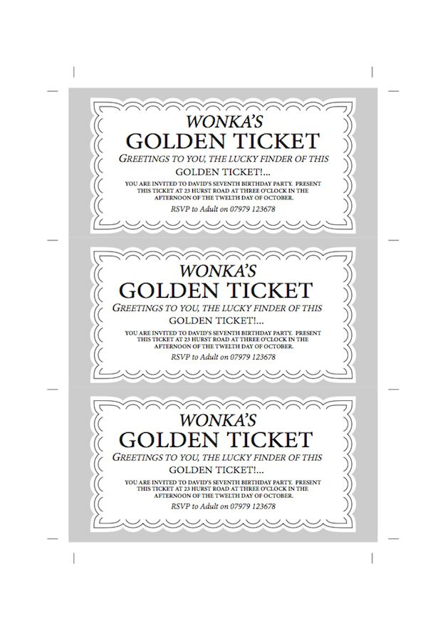 Best 25+ Golden ticket template ideas on Pinterest Willy wonka - admission ticket template