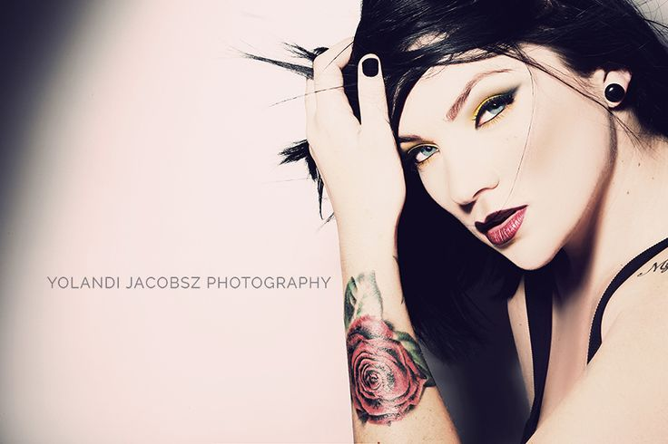 #yellow #make-up made for a fantastic #portfolio shoot