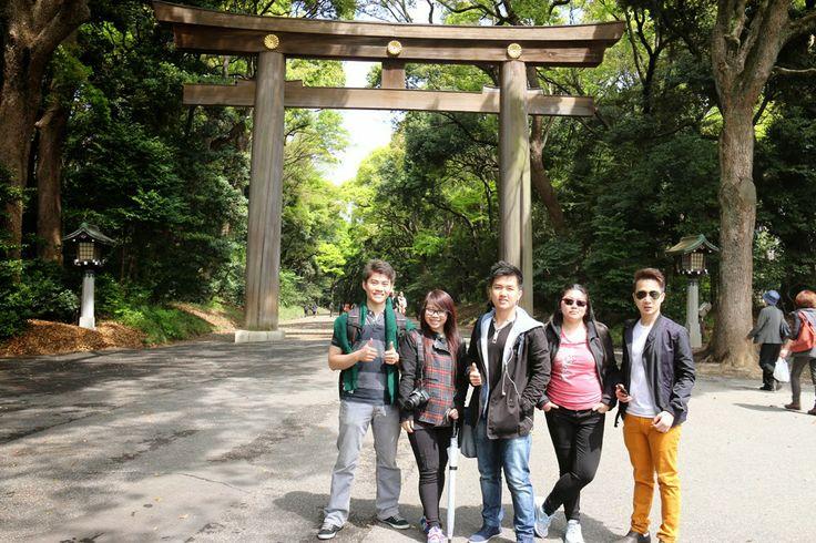 Born.To.Bite: Japan - Day 9 : Meiji Shrine, Odaiba