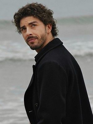 Michele Riondino - plays the young Inspector Montalbano in Italian detective series.