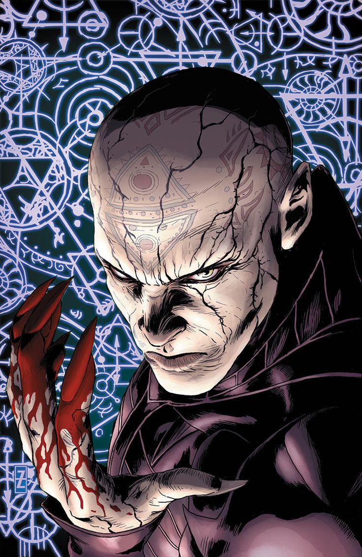 Master Darque in Shadowman #5 by Valiant Entertainment. My favorite comic book villain has returned!