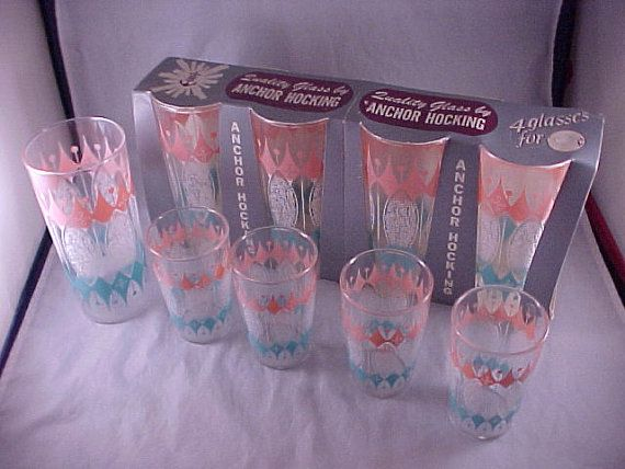 Anchor Hocking Glassware Water Glass Juice Glass Original Packaging