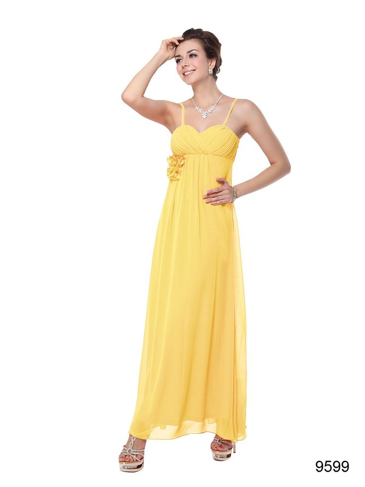 16 best Yellow Dress,Bridesmaid Dress,Evening Wear. images on ...