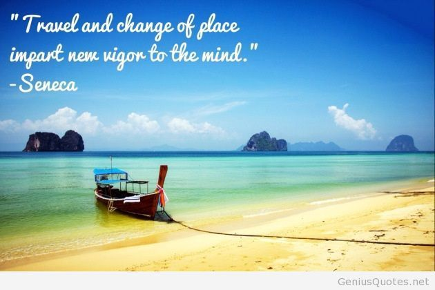 Travel and change of place