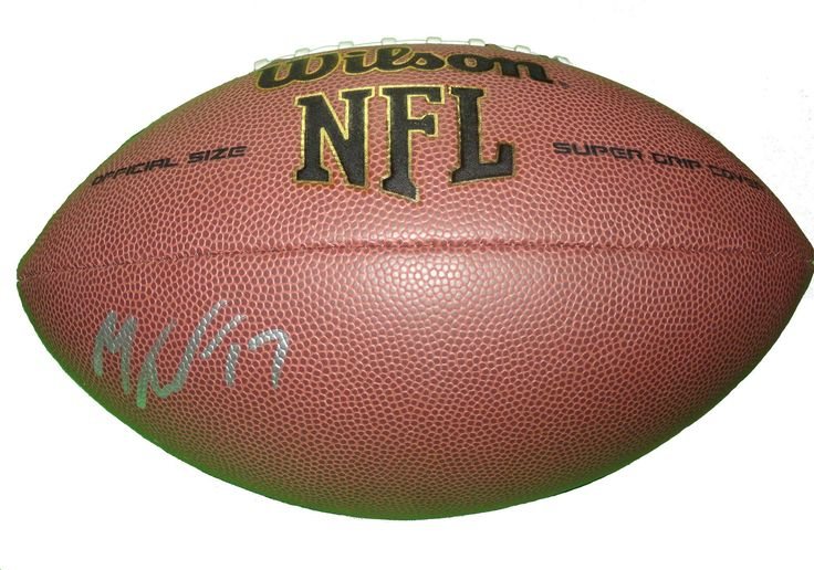 Mike Wallace Autographed NFL Wilson Composite Football, Proof Photo. Mike Wallace Signed NFLFootball, Baltimore Ravens, Minnesota Vikings, Miami Dolphins, Pittsburgh Steelers,Proof  This is a brand-new Mike Wallaceautographed NFL Wilson composite football.Mikesigned the footballin silver paint pen.Check out the photo of Mikesigning for us. ** Proof photo is included for free with purchase. Please click on images to enlarge. Please browse our websitefor additional NFL & NCAA...