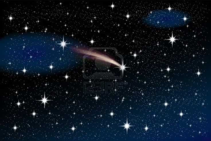 All wishes on shooting stars come true.