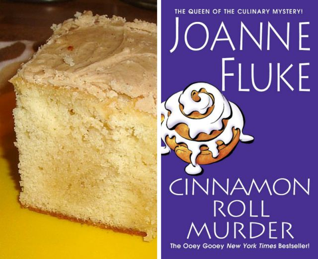 Butterama Cake From Cinnamon Roll Murder