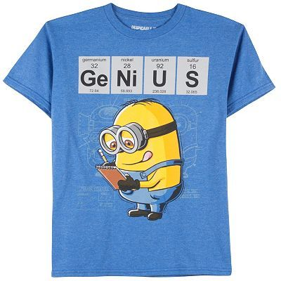Despicable Me Genius Minion Tee - Boys 8-20