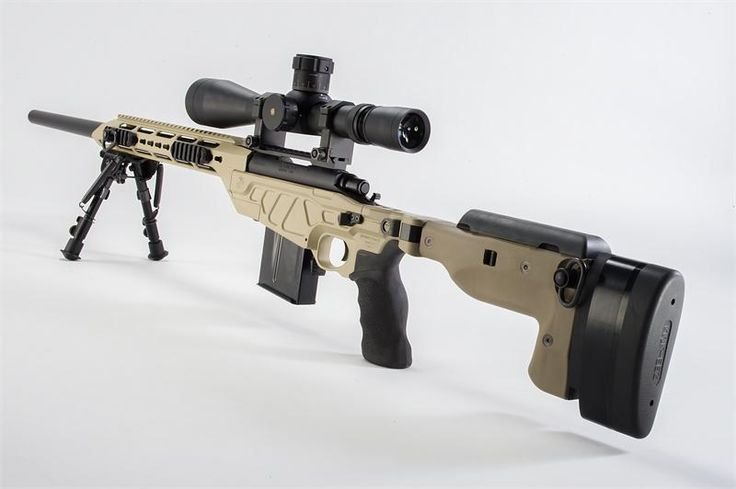 The AM40A6 was designed to be a next gen M40 rifle at civilian level pricing. It is equipped with a custom tuned GA Precision Remington 700 barreled action mounted to a SporT-Tact chassis with your choice of buttstock and for-end treatments.